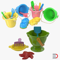 Sand Toys Collection 3