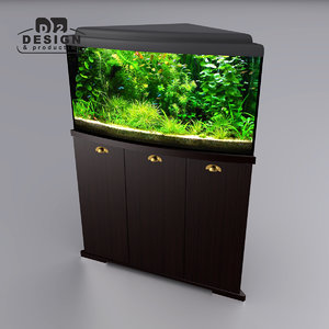 3d model corner cabinet delta