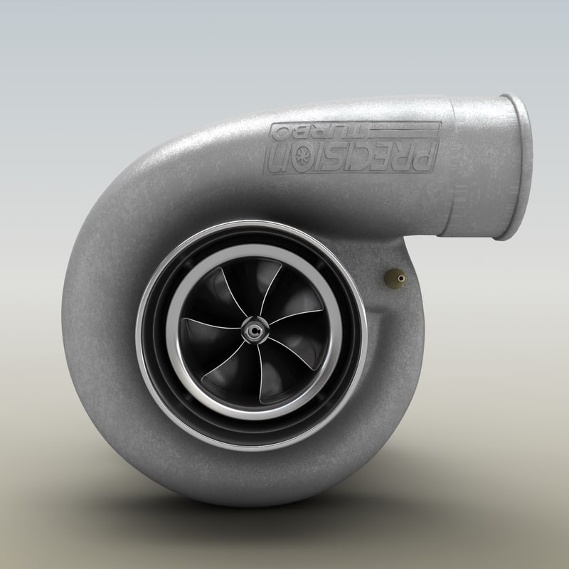 Precision Turbo Compressor Wheel: Turbocharger Compressor Wheel 3d Max