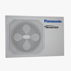 3d simple aircondition unit model