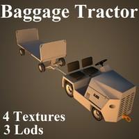 clark baggage tractor max