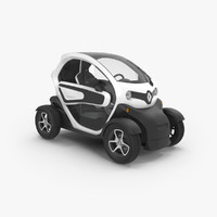 renault twizy 3d max