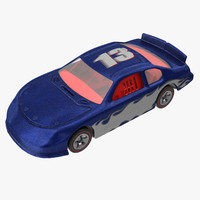 toy racecar 02 3d model