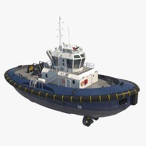 tugboat offshore 3d model