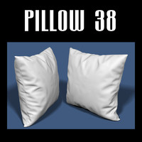 3d model pillow interiors