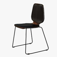 chair nuora rod seat 3d 3ds