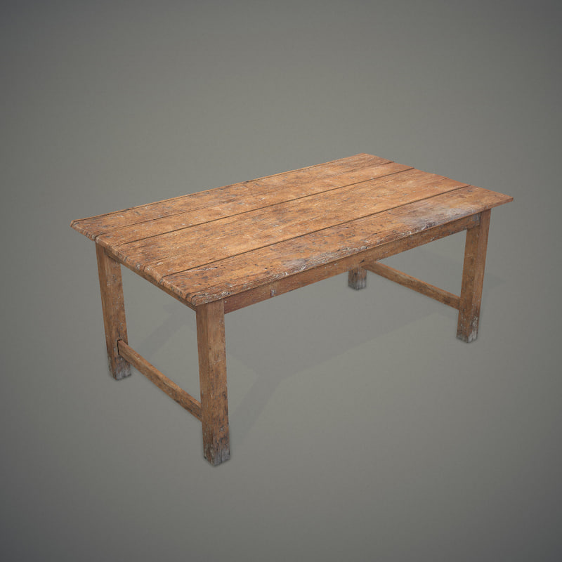 Old Wooden Table ~ D old wooden table