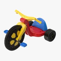 big wheel 3d model