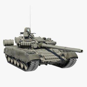 t-80 t-80bv 3d model