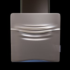 kitchen hood concetto spaziale 3ds
