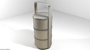 carrier kitchen kitchenware 3d model