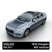 2017 s90 sedan 3ds