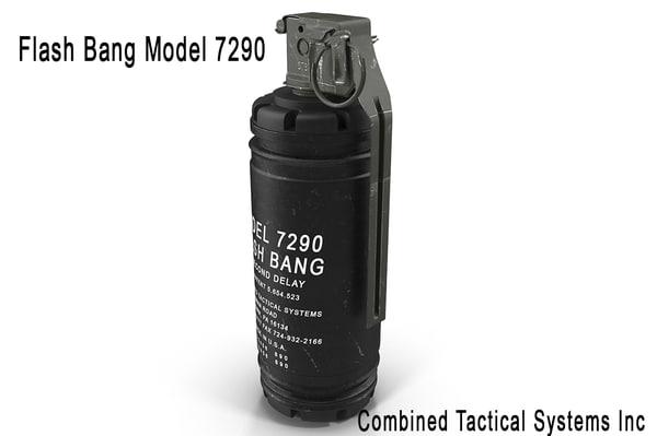 flash bang 729 3d max
