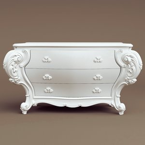 3d commode belloni classico 3049 model