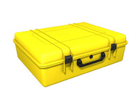 3d protective suitcase case gear