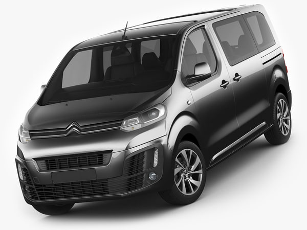 3d citroen space tourer model