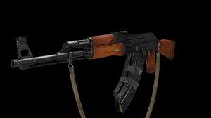 ak-47 obj
