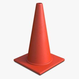 3d 18 road cone new
