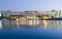 abu dhabi beach hotels 3d model