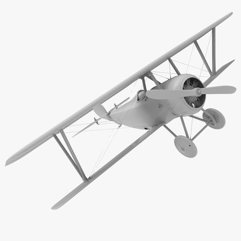 aircraft nieuport 16 obj