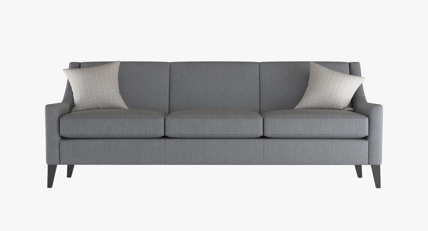 sofa cara 3d model
