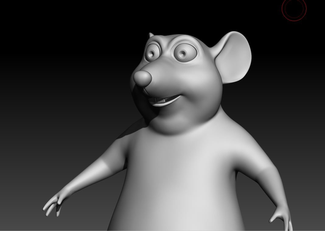 mouse cartoon 3ds