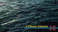 soviet submarine s-13 c-13 3d model