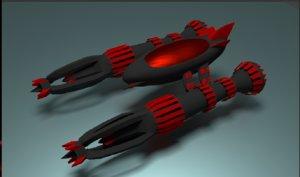 blend space ship