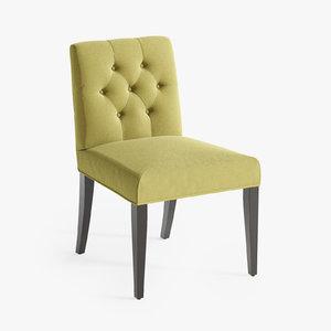 3d lillian chair