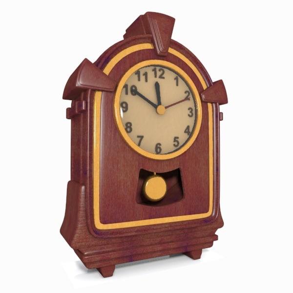 clock wooden max