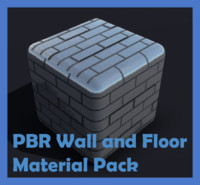 PBR Wall and Floor Materials