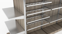 modular store shelving for retail