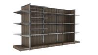 mass grocer supermarket modular 3d model