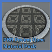 PBR Paving Stone Material Pack