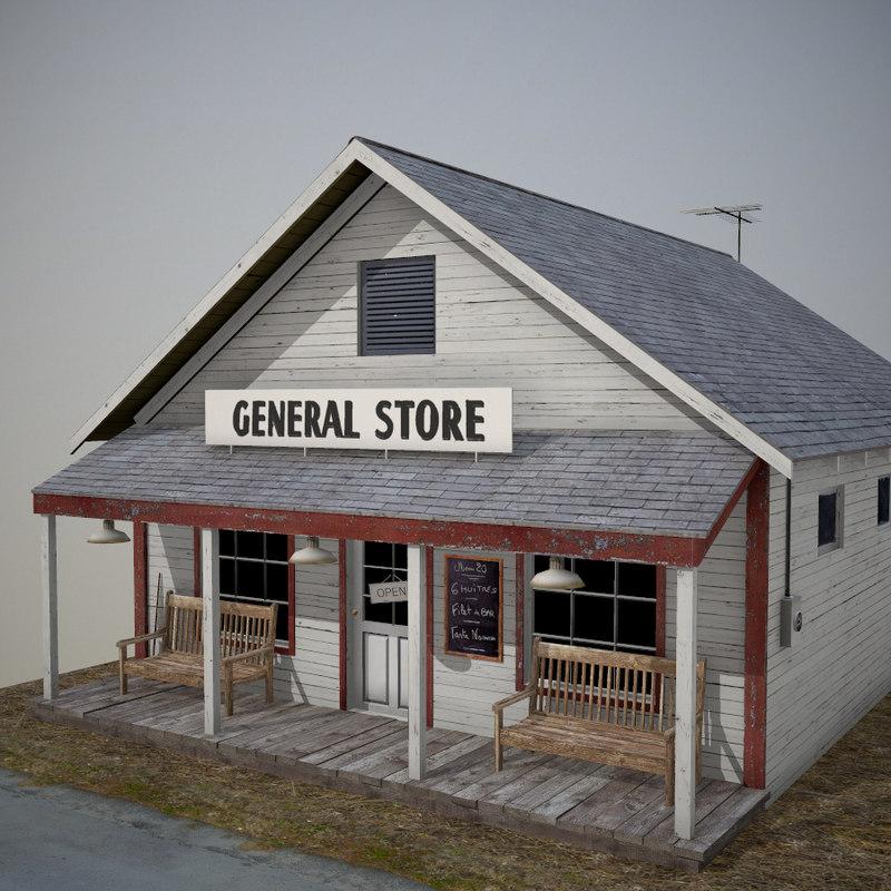 3d american store