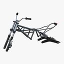 Motorcycle Parts 3D models