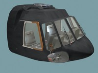 cockpit mi7 3d max