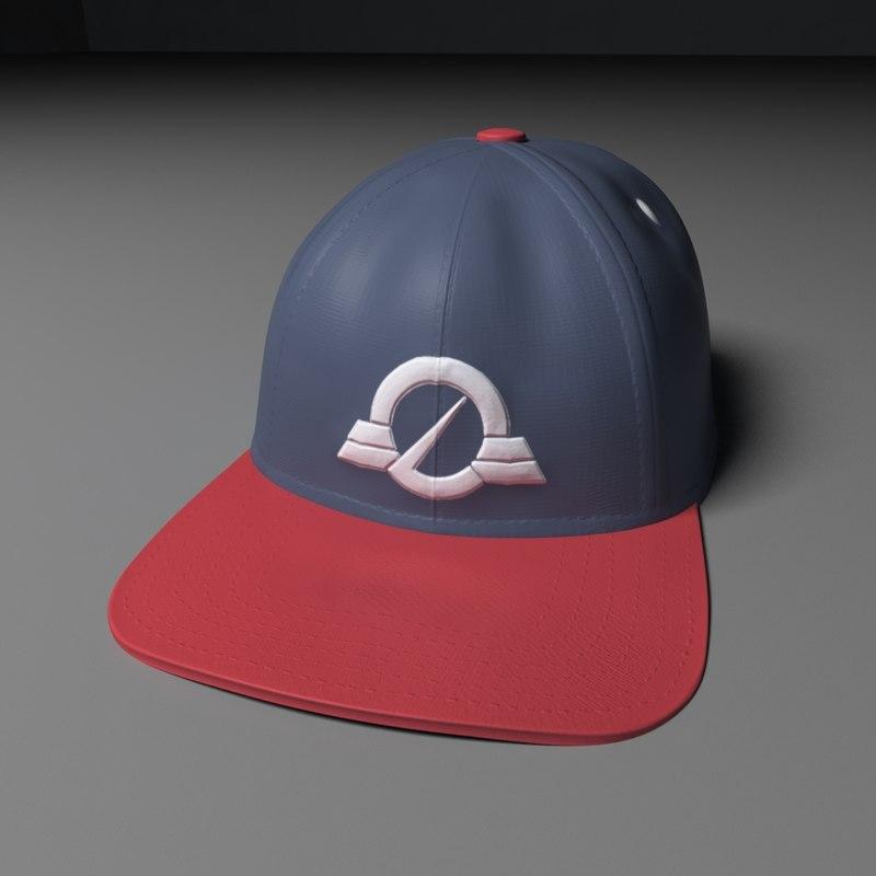 baseball cap obj