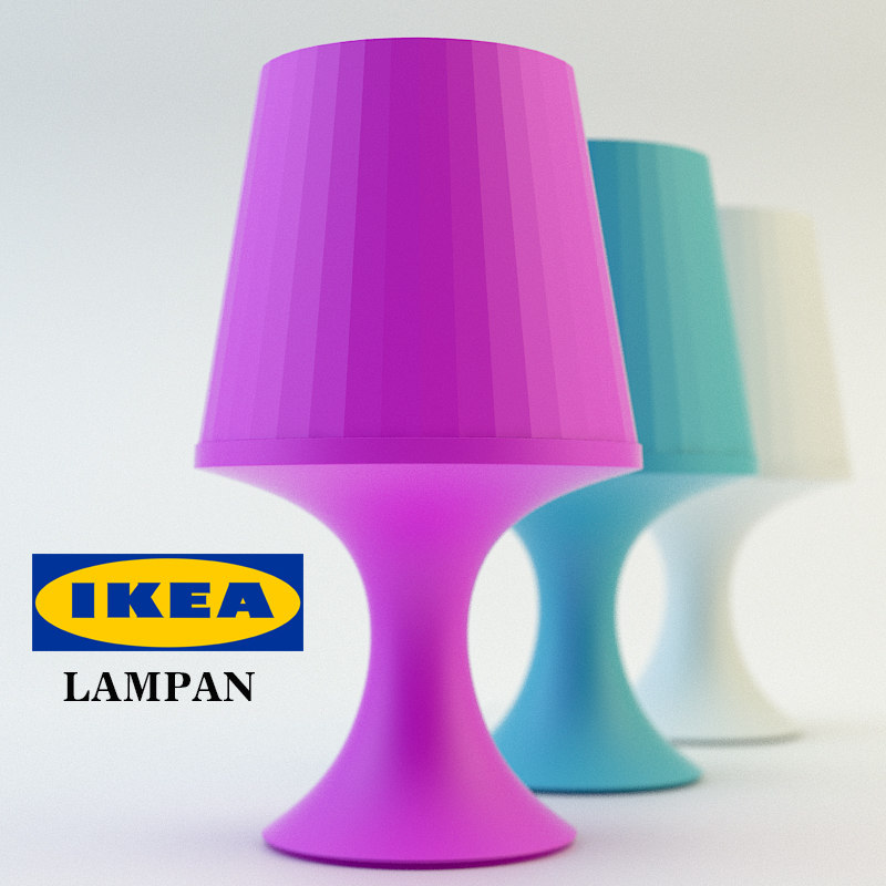 3d table lamp lampan
