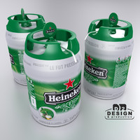 Beer keg Heineken party mini 5L