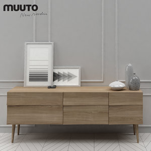 muuto reflect sideboard large 3d model