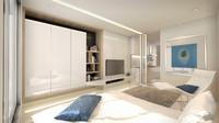 studio room 3d model