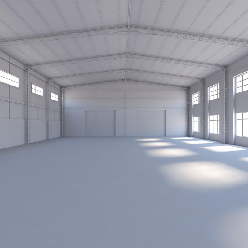 3d 3ds warehouse scene