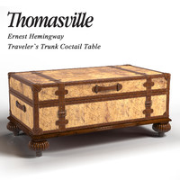 3d thomasville coctail table