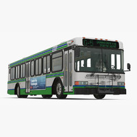 gillig floor advantage bus 3d 3ds