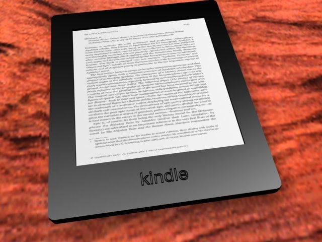 3ds e-book reader kindle