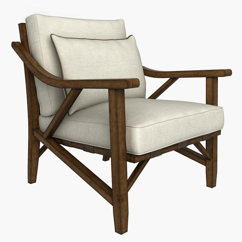3d schnadig outdoor chair model