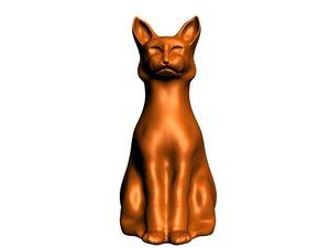 max statue cat