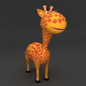 giraffe rigged ma