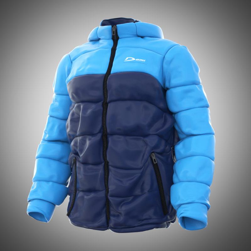 winter jacket obj